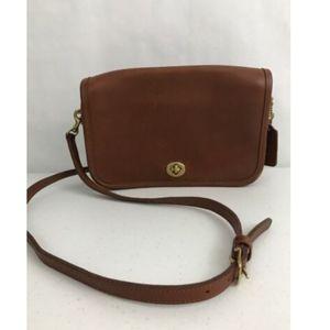 Coach 9755 Penny Pocket Leather Bag Crossbody